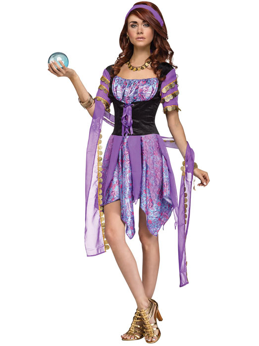 Grímubúningar Gypsy Magic (small/medium)