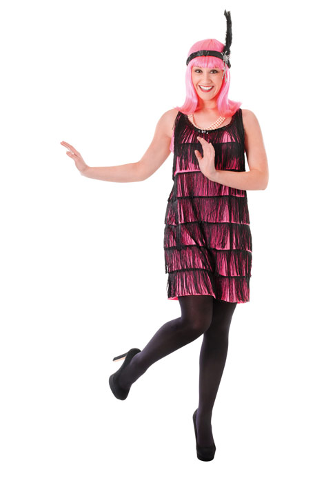 Grímubúningar Flapper Sassy (medium)
